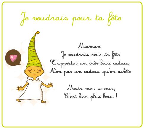 Poeme Fete Des Mere Court Cedric March